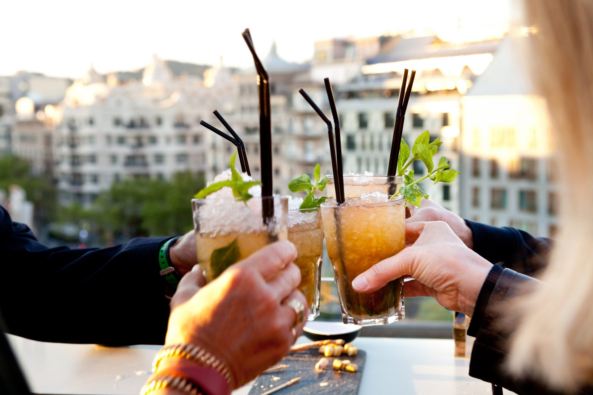 Music Drinks And Gastronomy On Alaire Terrace Associació